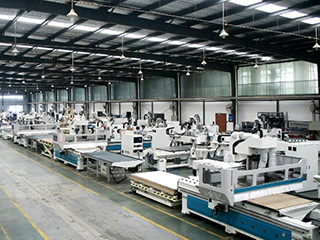 STYLECNC® Automatic Nesting CNC Router Machine Workshop