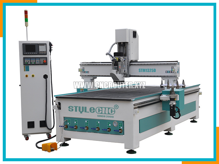 ATC cnc router with Carrousel automatic tool changer system