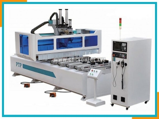 PTP single arm cnc drilling center
