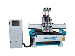 STYLECNC® 1325 three process CNC router machine for wood door