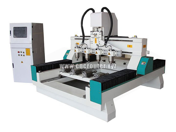STYLECNC® 3d CNC router machine with 4 rotary