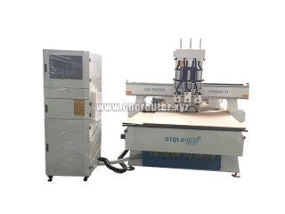 Multi spindles CNC router for sale with Nc studio control system