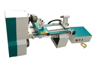 Small CNC turning lathe machine for wood