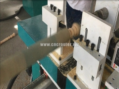 New design CNC router wood lathe for chair leg making