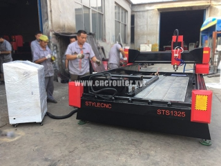 STYLECNC stone carving and cutting machine delivery to Macedonia