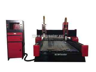 STYLECNC  stone engraver machine with double-heads