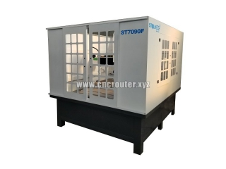 Full enclosed CNC mold making machine with Servo motor