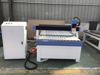 STG1212 Advertising CNC router work on MDF