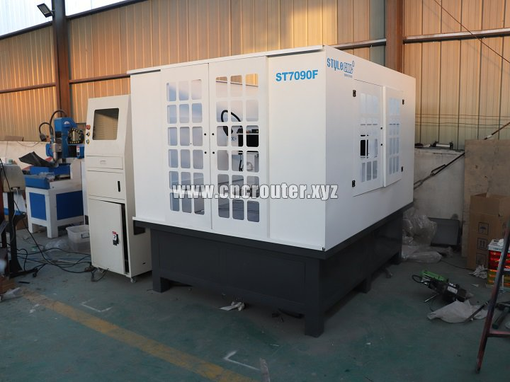 ST7090F CNC Molding machine delivery to Azerbaijan