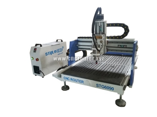 STYLECNC STG6090 CNC router with vacuum table deliver to France