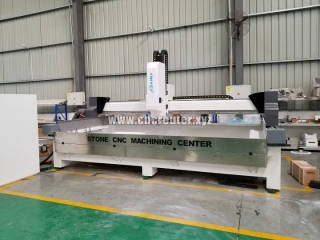 Quartz stone ATC CNC machine center for kitchen table making