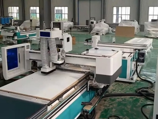 Customized panel furniture production by automatic nesting CNC router machine