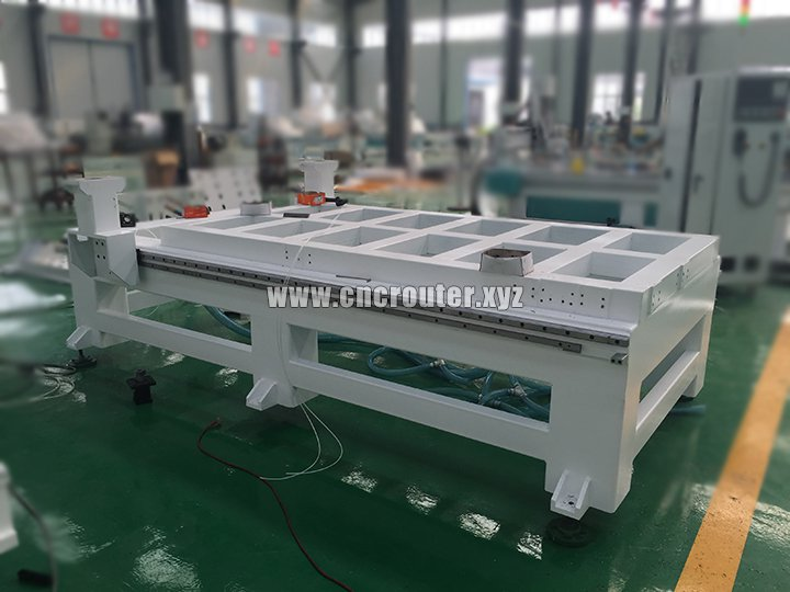 Thickness square tube machine body of Pneumatic CNC router