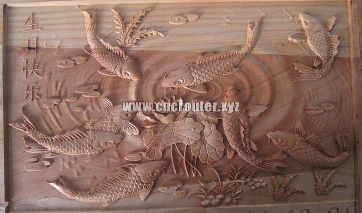 3D carving ATC cnc router