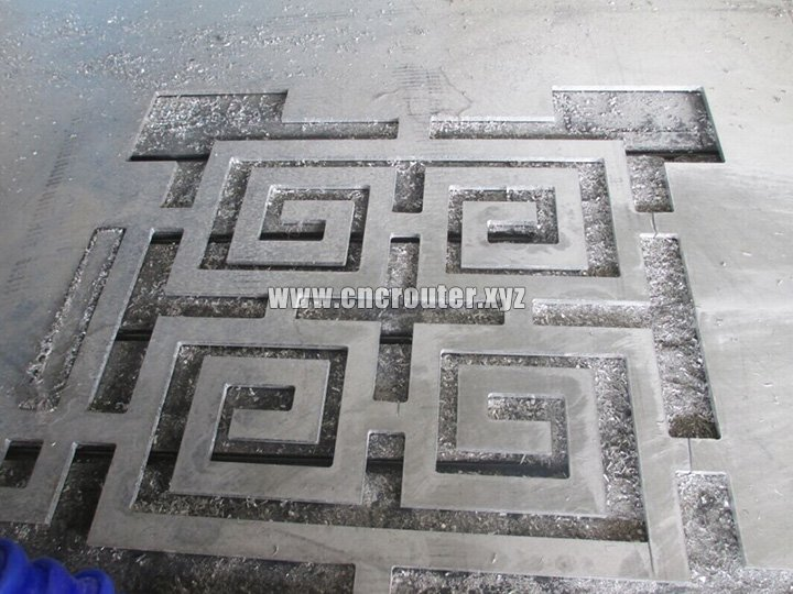 Aluminum cutting ATC cnc router