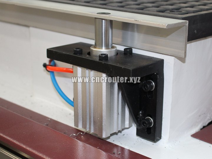 pneumatic panel positioning pins for cabinet door cnc router