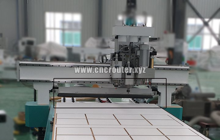 pusher for kitchen cabinet cnc router