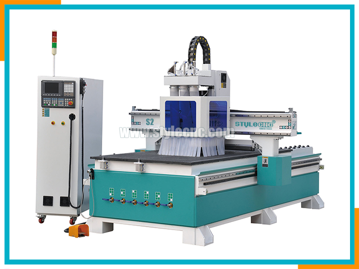 Kitchen cabinet door CNC router machine 1325