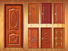Wooden door samples by ATC CNC router