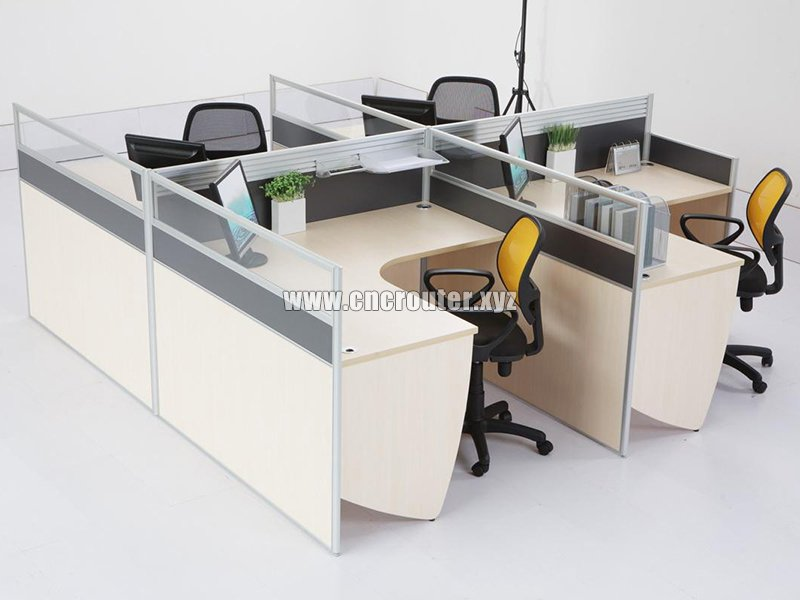 Custom Office Furniture Sample 01 By Intelligent Full Automatic CNC Router