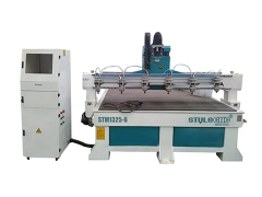 Multi spindles 3d wood carving CNC router
