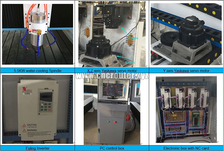 Stone marble engraving CNC router machine 1325