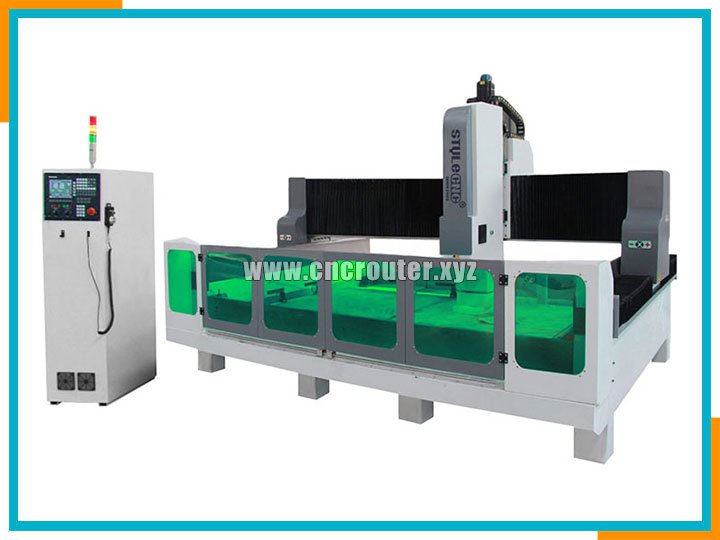 CNC stone center with professional engraving and polishing system