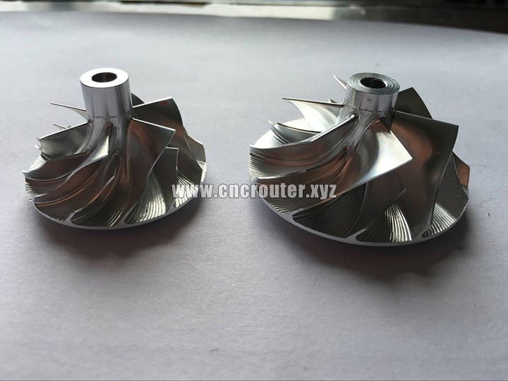 5 axis CNC router machine samples