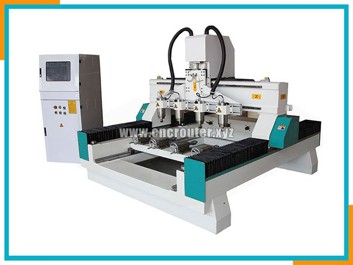 multi-heads CNC wood router