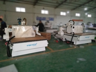 Two Sets STM1325 CNC Router Delivery to Bahrain