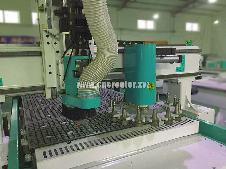spindle of cnc router center