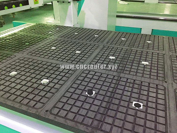 vacuum table of cnc router