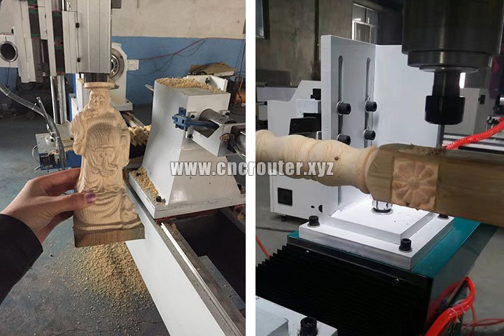 CNC lathe machine samples
