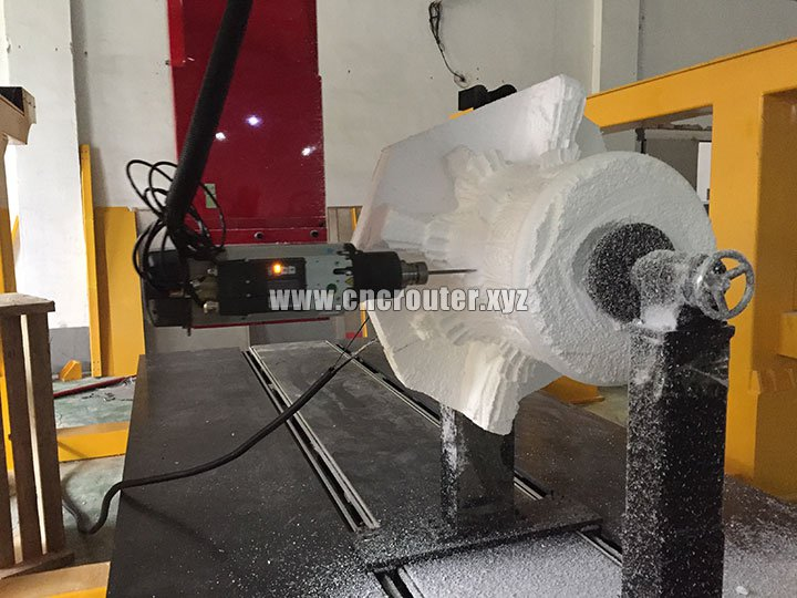 4 Axis CNC Foam Cutting Machine