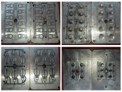 Metal Molds Made by CNC Mold Making Machine