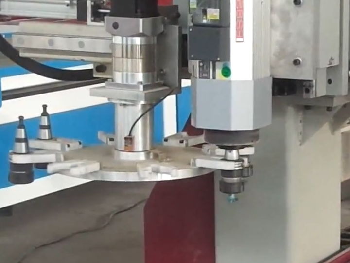 Big size 2030 CNC router with automatic tool changer