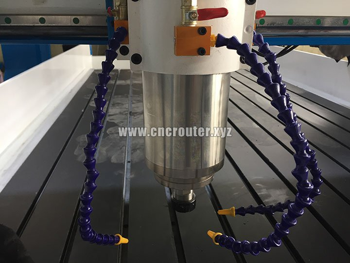 water cooling spindle of Woodworking Machine