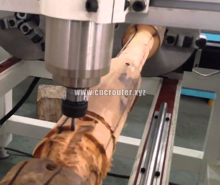 samples of 4 Axis Rotary Woodworking Machine