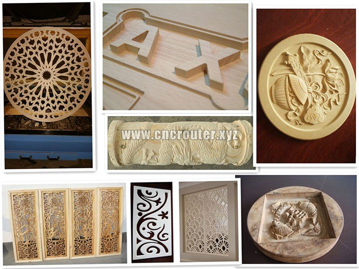 project of CNC Wood Router Mahchine