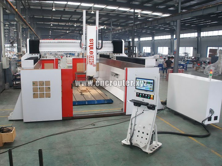 5 Axis CNC Router Machine