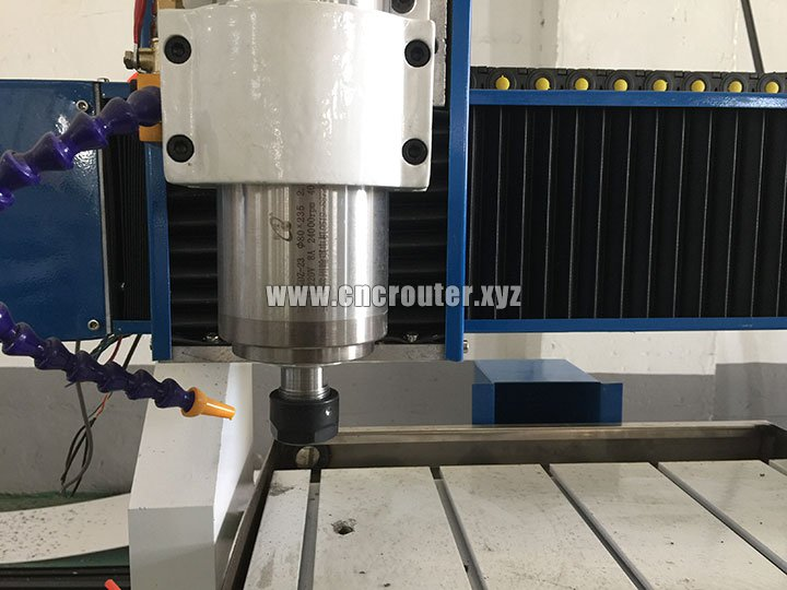 water cooling spindle of CNC Metal Carving Machine