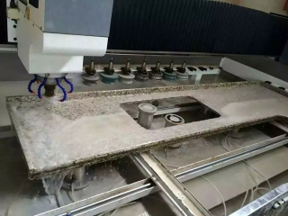CNC Machine Center for Stone Carving and Polishing