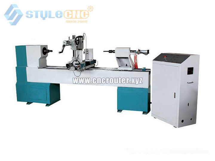 CNC Wood Lathe and Turning Machine