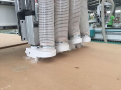 4 heads CNC wood cutting machine for furniture