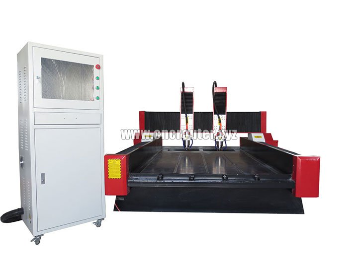 double heads stone CNC router machine