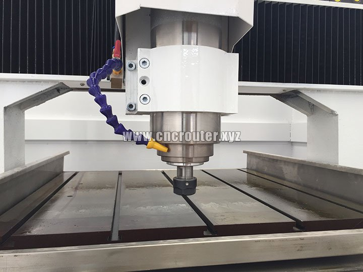 water cooling spindle of CNC metal mould marking machine