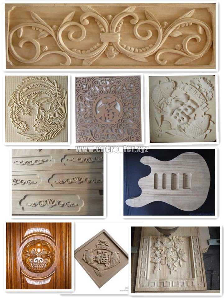 projects of MINI CNC wood carving machine