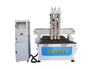 STYLECNC® 1325 CNC wood machine with three spindles