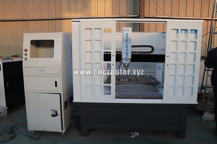 full enclosed for CNC router for molding