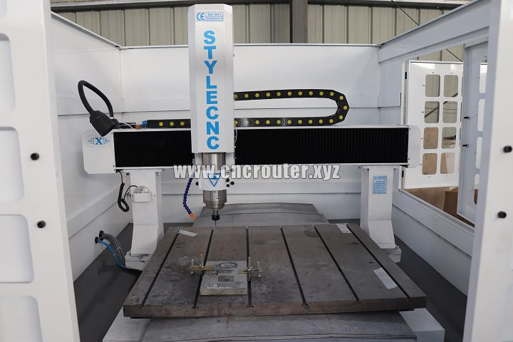 Spindle of CNC router for molding